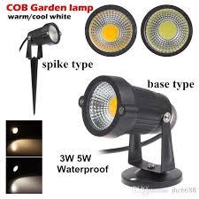 110 Volt Landscape Lighting 9w 7w 5w 3w Led Cob Lawn Ls With Base 110 V 220 V Outdoor