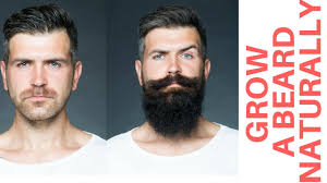 natural way to grow a beard and moustache faster at home best
