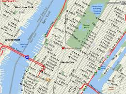 map of nyc streets map of streets in nyc major tourist attractions maps