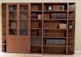 Wooden Bookcase With Doors Solid Wood Bookcases Glass Doors Solid Wood Bookcase With Doors