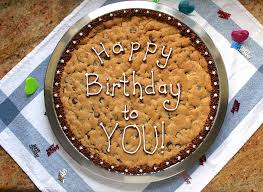 birthday cookie cake tired of birthday cake make a chocolate chip birthday cookie or