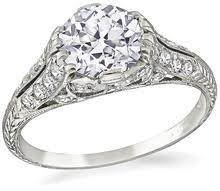 antique engagement rings vintage engagement rings new york