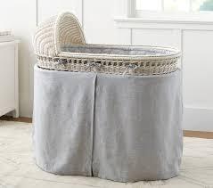 Second Hand Nursery Furniture Brisbane Bassinet U0026 Mattress Pad Set Simply White Pottery Barn Kids Au