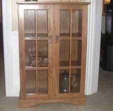 Bookshelves Glass Doors by Custom Made Pair Of 4 Shelf Barrister Bookcases Solid Wood With