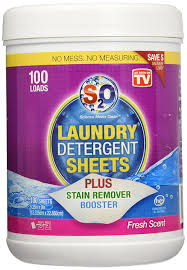 amazon com s2o laundry detergent sheets plus stain remover