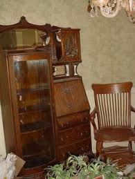 antique secretary desk with bookcase mohogany victorian antique
