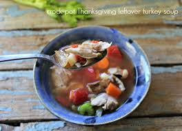 easy crock pot turkey soup recipe leftover turkey soup turkey