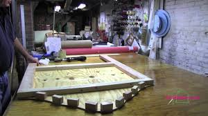 upholstery how to build a headboard part 1 mov youtube