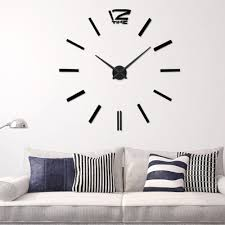 aliexpress com buy 2016 new item diy 3d clock home decor wall