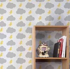 rainbolts wallpaper by wall library notonthehighstreet com