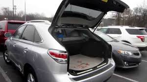 lexus rx houston tx closing automatic back door on a 2014 lexus rx 450h youtube