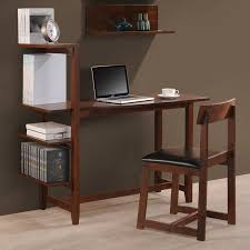 desk with shelves on side international caravan washington 47 writing desk with side shelf
