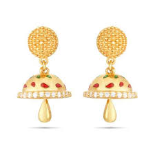 gold jhumka earrings gold jhumkas best designs of gold jhumka online in india