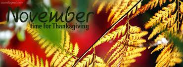 november time for thanksgiving cover november time for