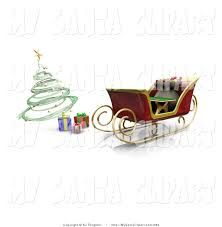 spiral christmas tree clipart 35