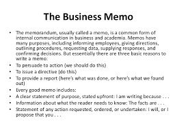 business memo format sample memo writing