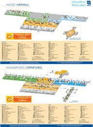 Athens Greece Map by Athens Airport Map