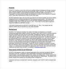 software business proposal template sample software development