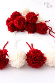 Homemade Pom Pom Decorations Add Some Cuteness To A Throw With Diy Pom Poms
