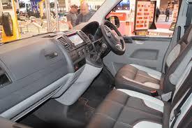 volkswagen minibus interior swiss vans visit the cv show in birmingham
