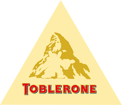 til the logo for toblerone chocolate contains a