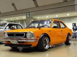 toyota arabalar toyota corolla te27 i think looks like an old civic cars and