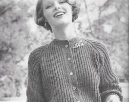 50s knitting pattern etsy