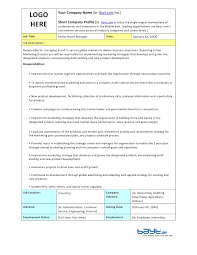 senior brand manager job description template by bayt com