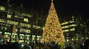 light up in pittsburgh the tree light up at the ppg
