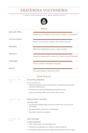 Sample Office Assistant Resume Accounting Assistant Resume Samples Visualcv Resume Samples Database