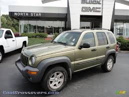 dark green jeep 2004 jeep liberty sport 4x4 in cactus green pearl 235531 cool
