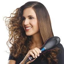 amazon com simply straight ceramic hair straightening brush