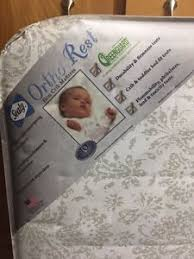 Sealy Ortho Rest 150 Coil Crib Mattress Sealy Ortho Rest Crib Mattress Toddler Bed 150 Coil Baby
