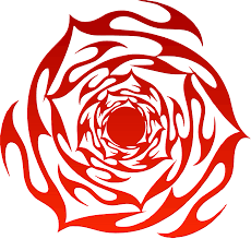 tribal rose tattoo design isolated stock photo by nobacks com