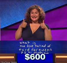 jeopardy guest channels classic saturday night live skit in her