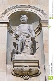 architectural statue of hephaestus vulcan stock photo image