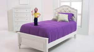 Bobs Furniture Bed Madelyn U0027s Bedroom Set Bob U0027s Discount Furniture Youtube