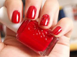simple red nail art images nail art designs