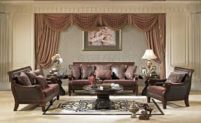 Wooden Sofa Chair With Cushions Living Room Formal Living Room Decoration Ideas With Brown Wood