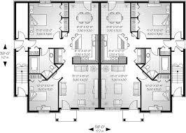 Multi Family House Plans Triplex Family House Plans Triplex House Plans Multi Family Homes Row