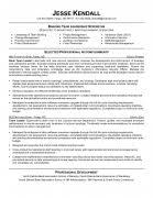 Blank Sample Resume by Resume Sample Team Leader Resume