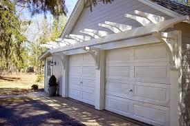 the impatient gardener how to build a garage pergola