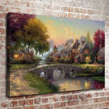 discount kinkade decorations 2017 kinkade