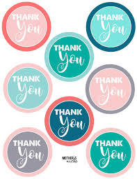 thank you tags 15 gift ideas free printable thank you tags