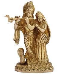 God Statue by Buy Itos365 Radha Krishna Brass Statue Hindu God Sculpture