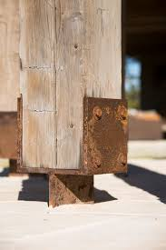 porch post ideas spaces rustic with ranch beeyoutifullife com
