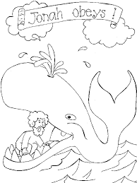 jonah and the whale coloring pages free printable coloring pages