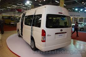 toyota hiace vip 2018 toyota hiace to come with a bonnet claims new report