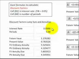 Discounted Flow Excel Template Discounted Flows Excel Formulas And Flow Diagrams Dcf