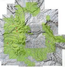 Utah Hunting Maps by La Sal Maps And Recreation